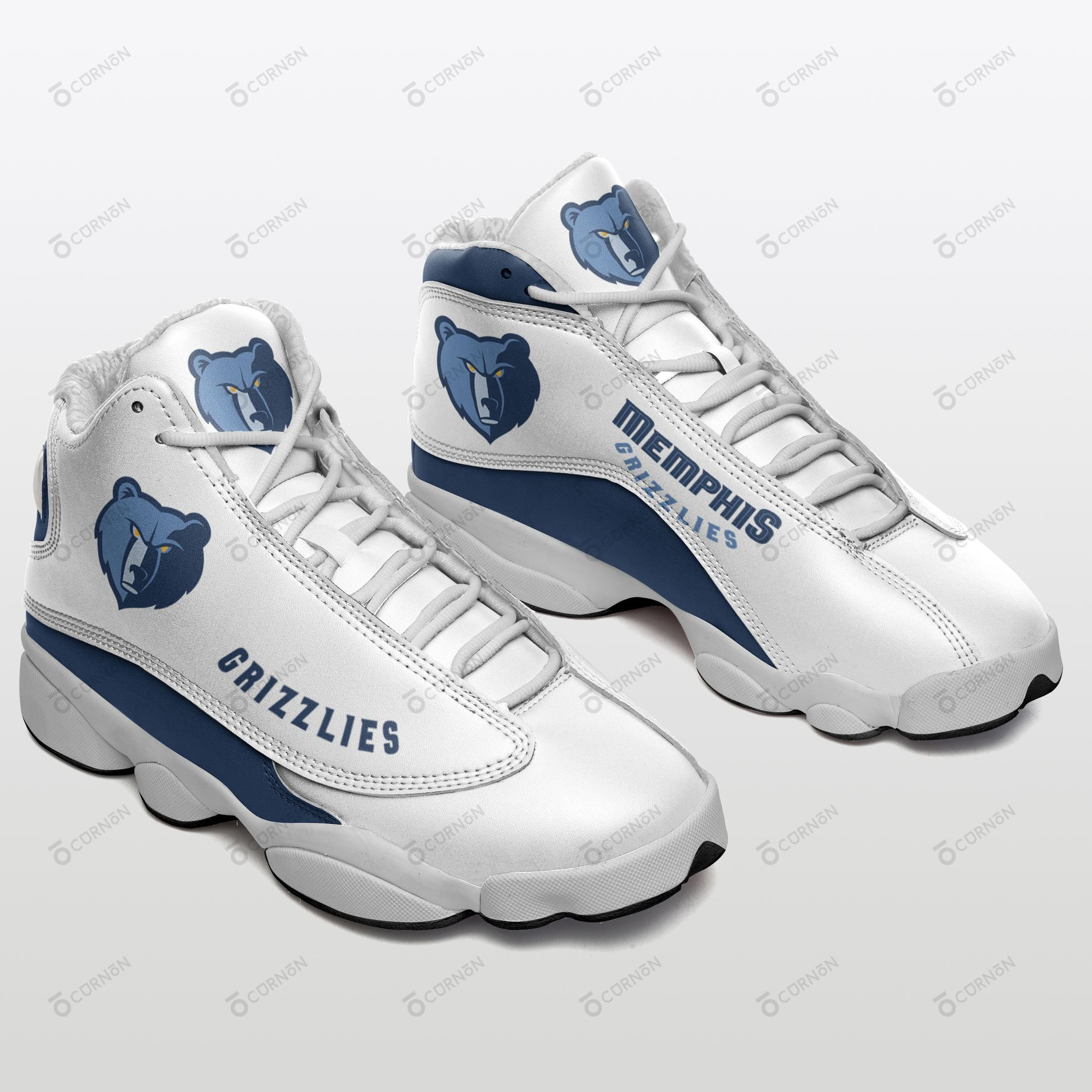 Memphis Grizzlies Air JD13 Sneakers 070