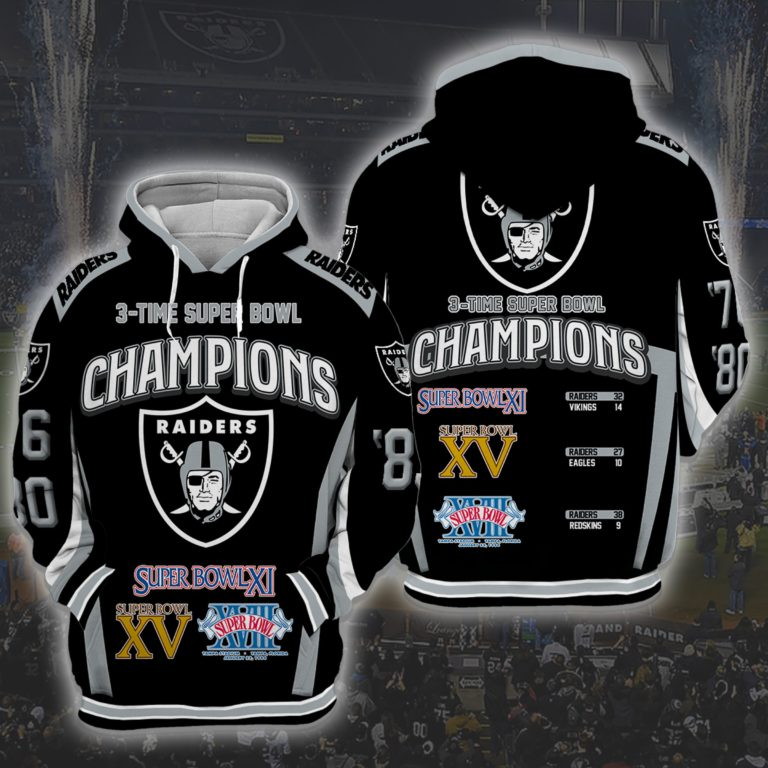 Oakland Raiders 3d Hoodie For Men For Women All Over Printed Hoodie