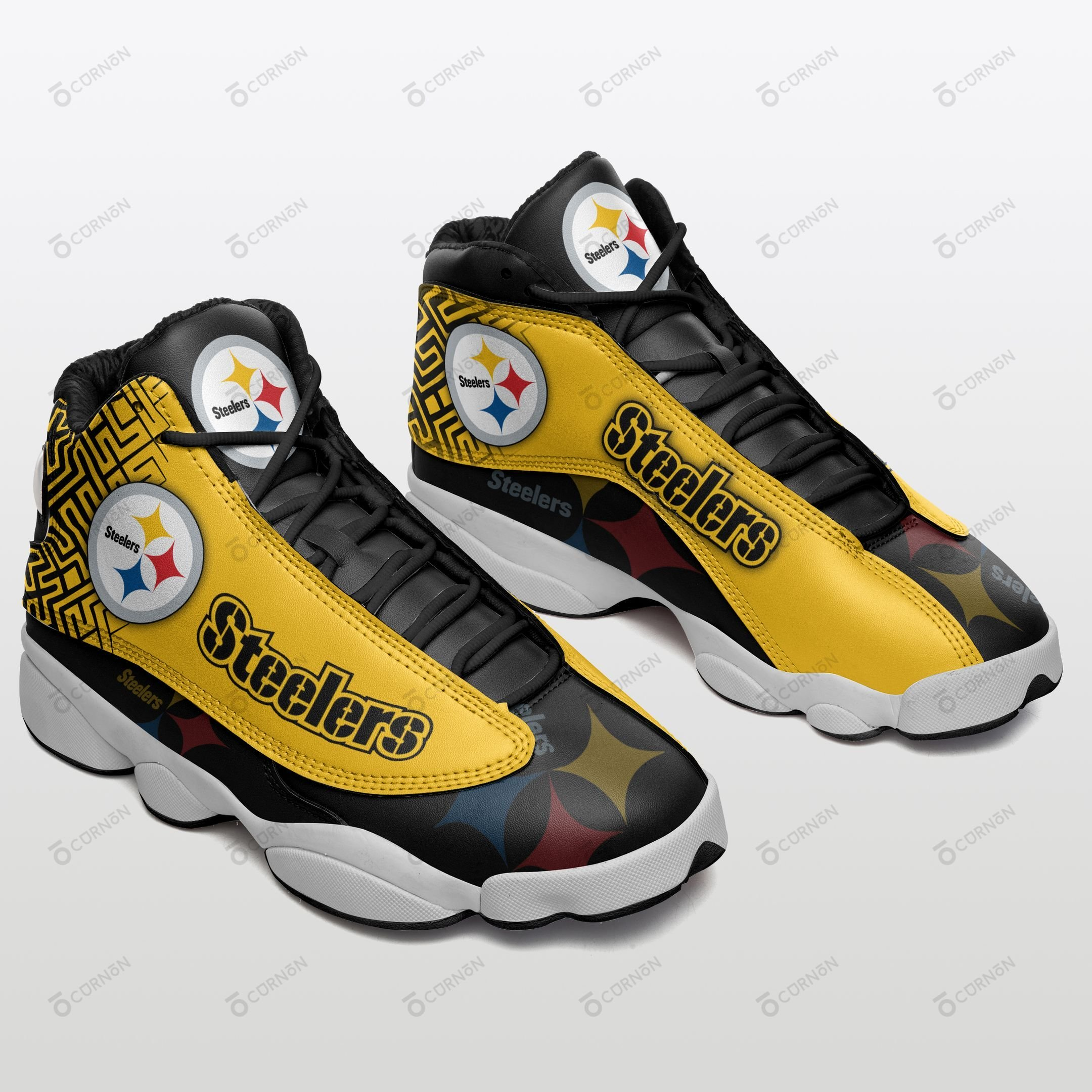Pittsburgh Steelers Air JD13 Sneakers 253