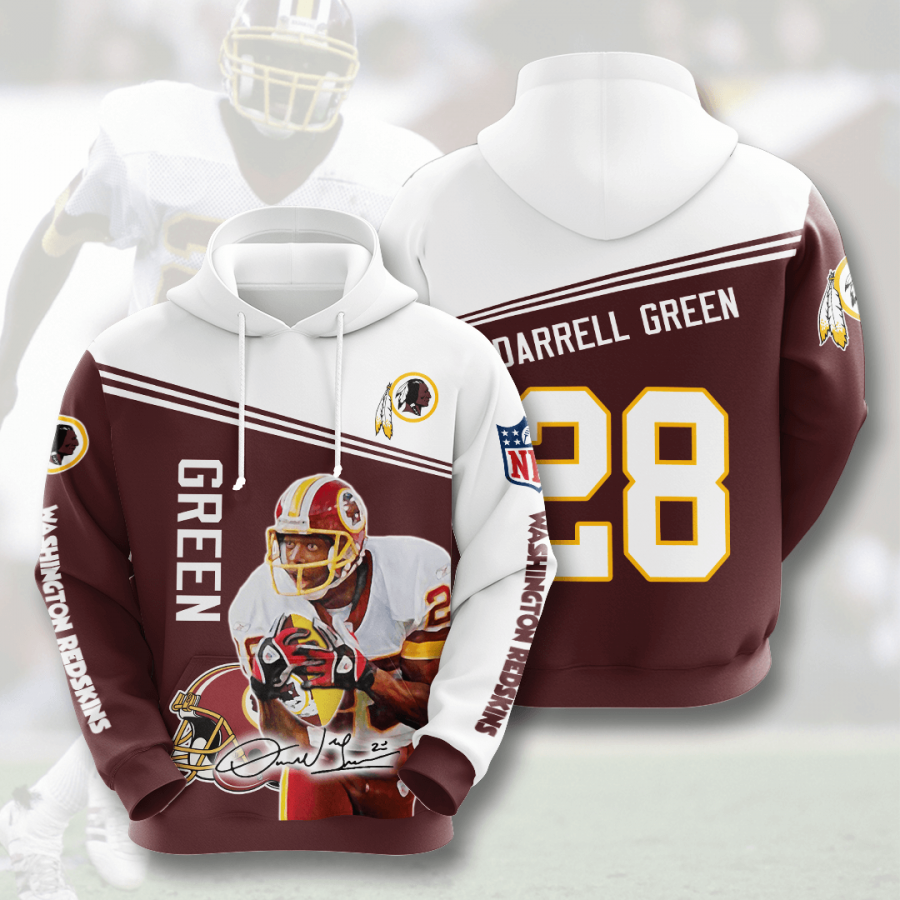 WASHINGTON REDSKINS Darrell Green 3D Hoodie For Men For Women, All Over Printed Hoodie