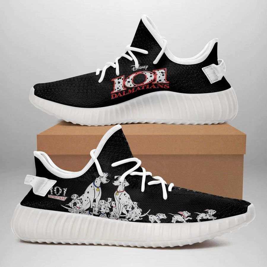 101 Dalmatians Yeezy Sneakers Best Gift For Friends, Women, Men. Birthday Gift