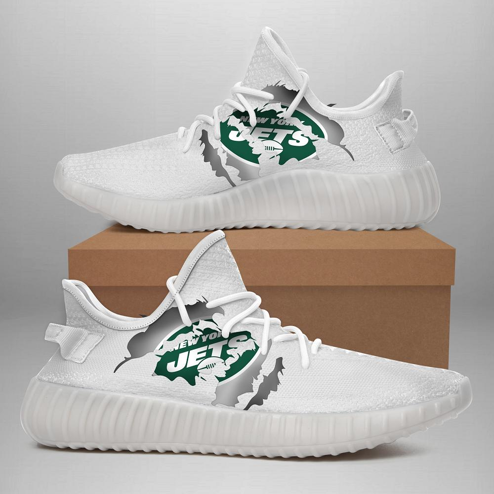 190702 New York Jets Yeezy Shoes