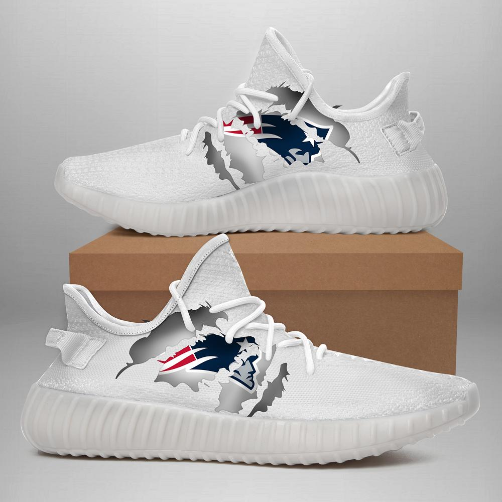 190703 New England Patriots  Yeezy Shoes