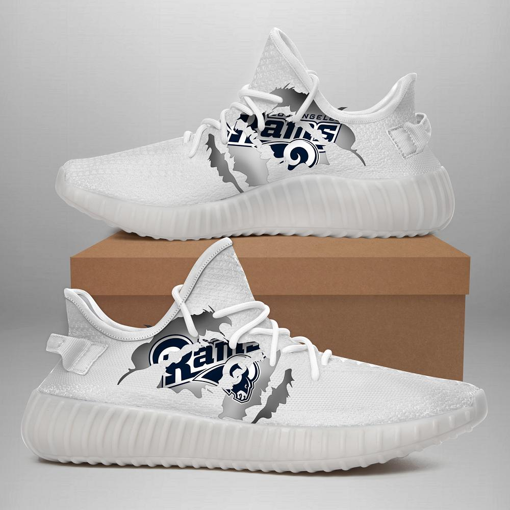 190704 Los Angeles Rams Yeezy Shoes
