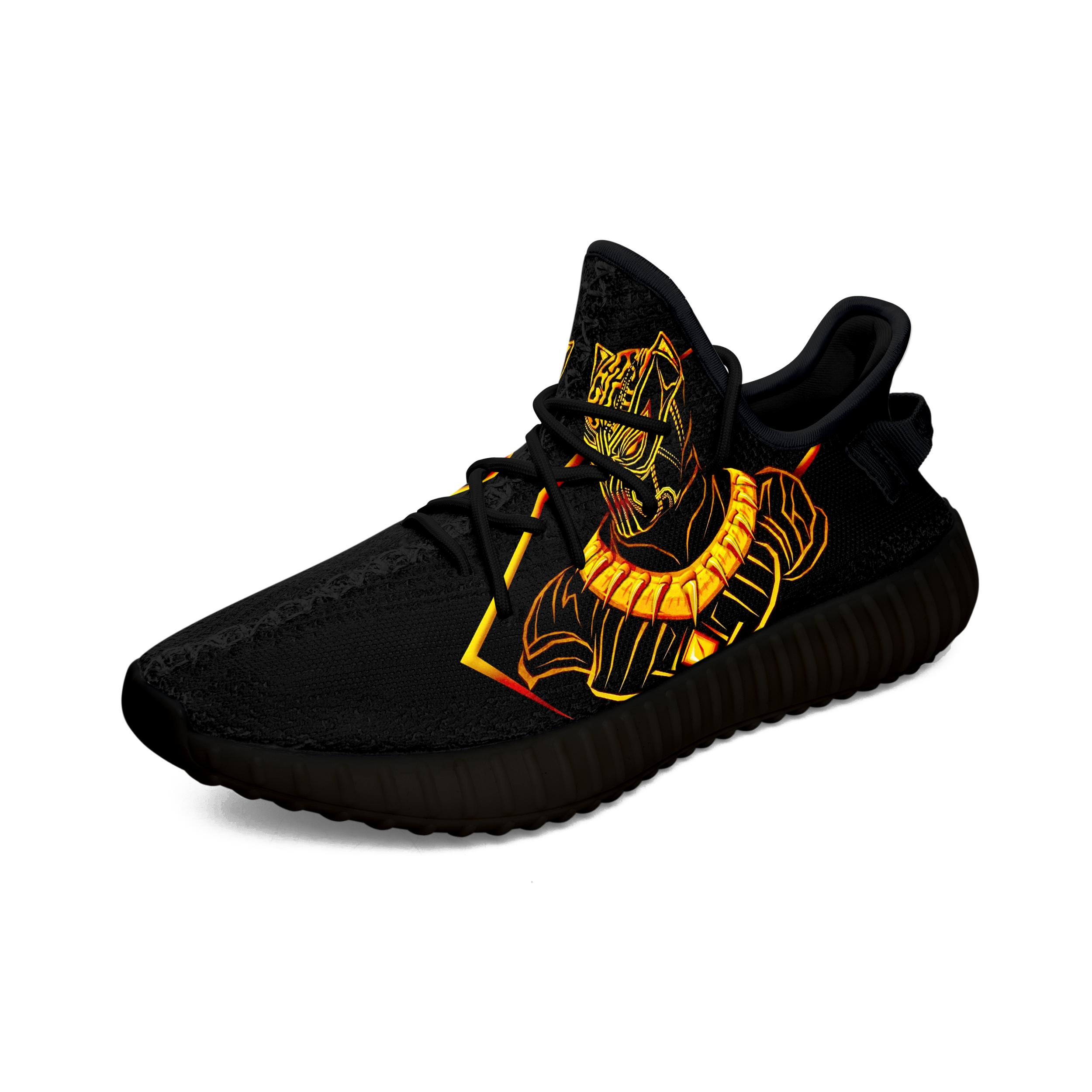 190705 ? Black Panther Yeezy Boots