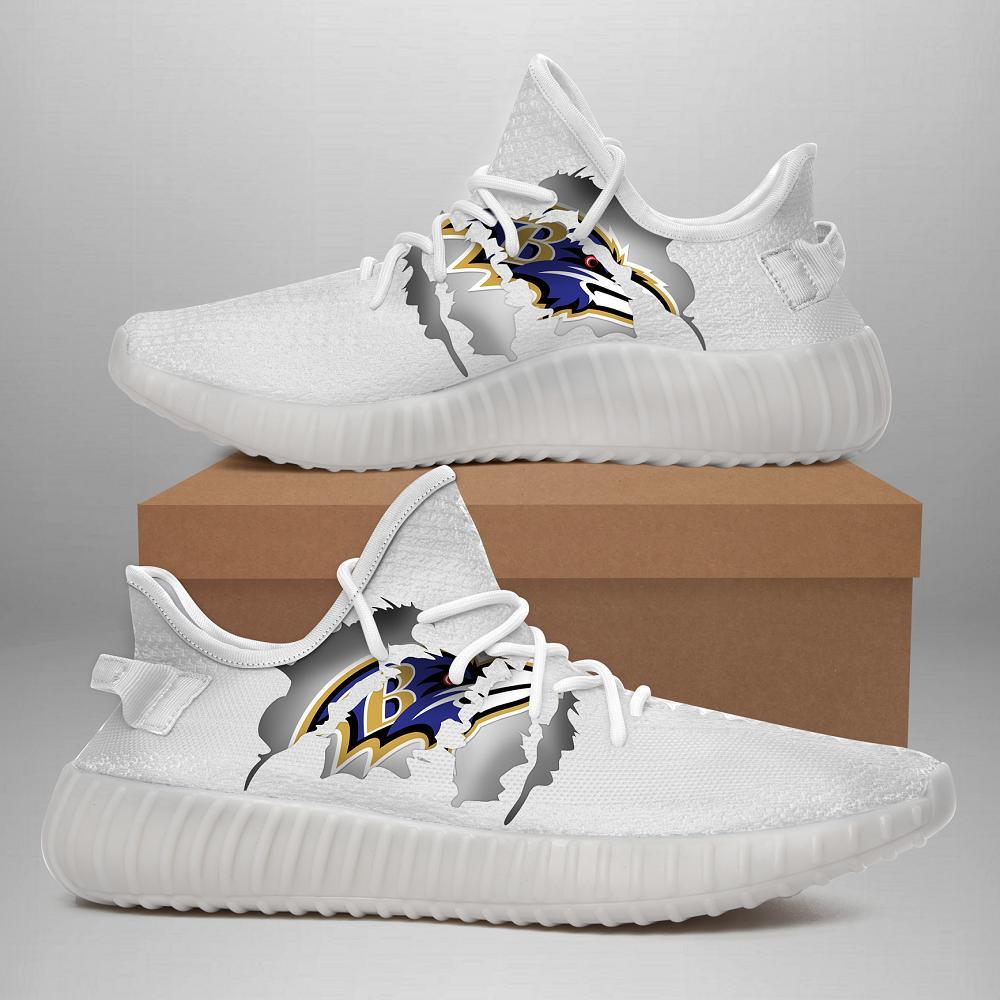 190707 Baltimore Ravens Yeezy Shoes