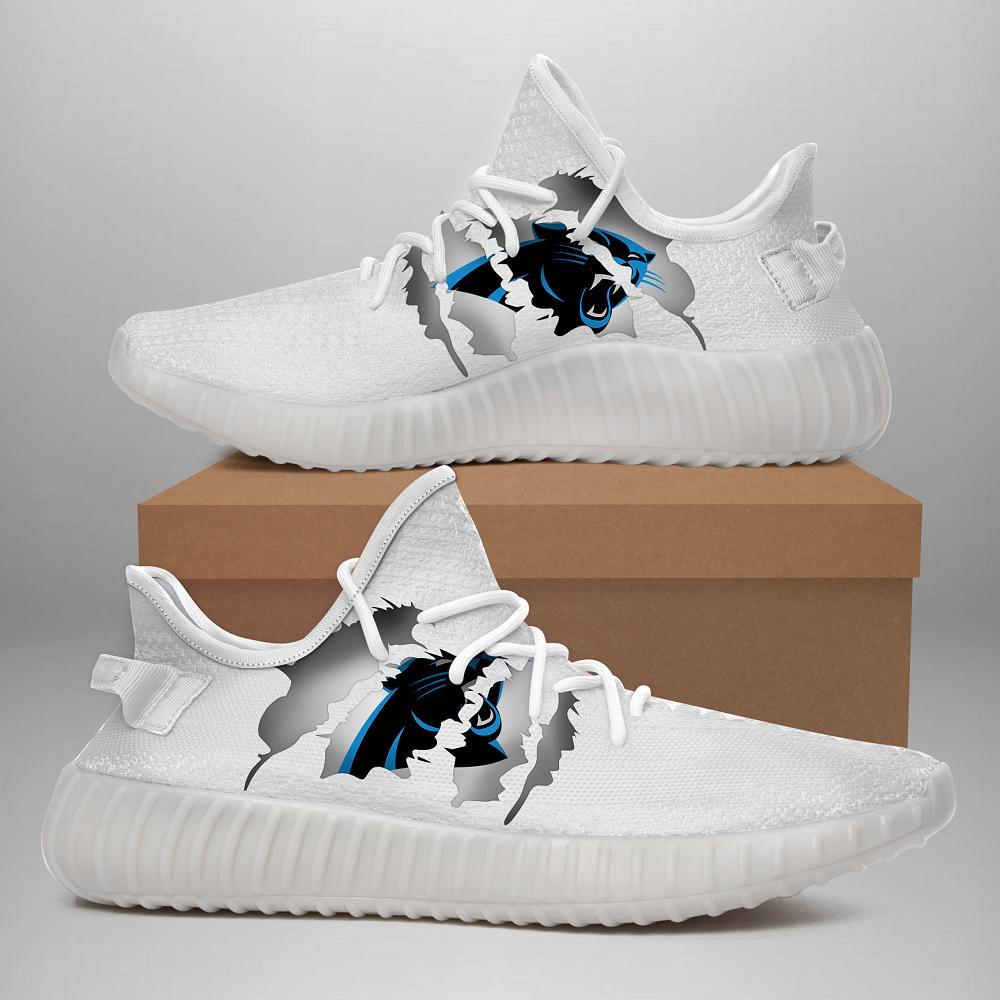 190709 Carolina Panthers Yeezy Shoes
