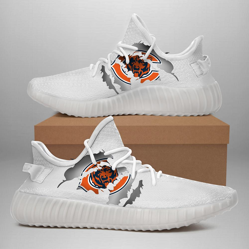 190710 Chicago Bears Yeezy Shoes