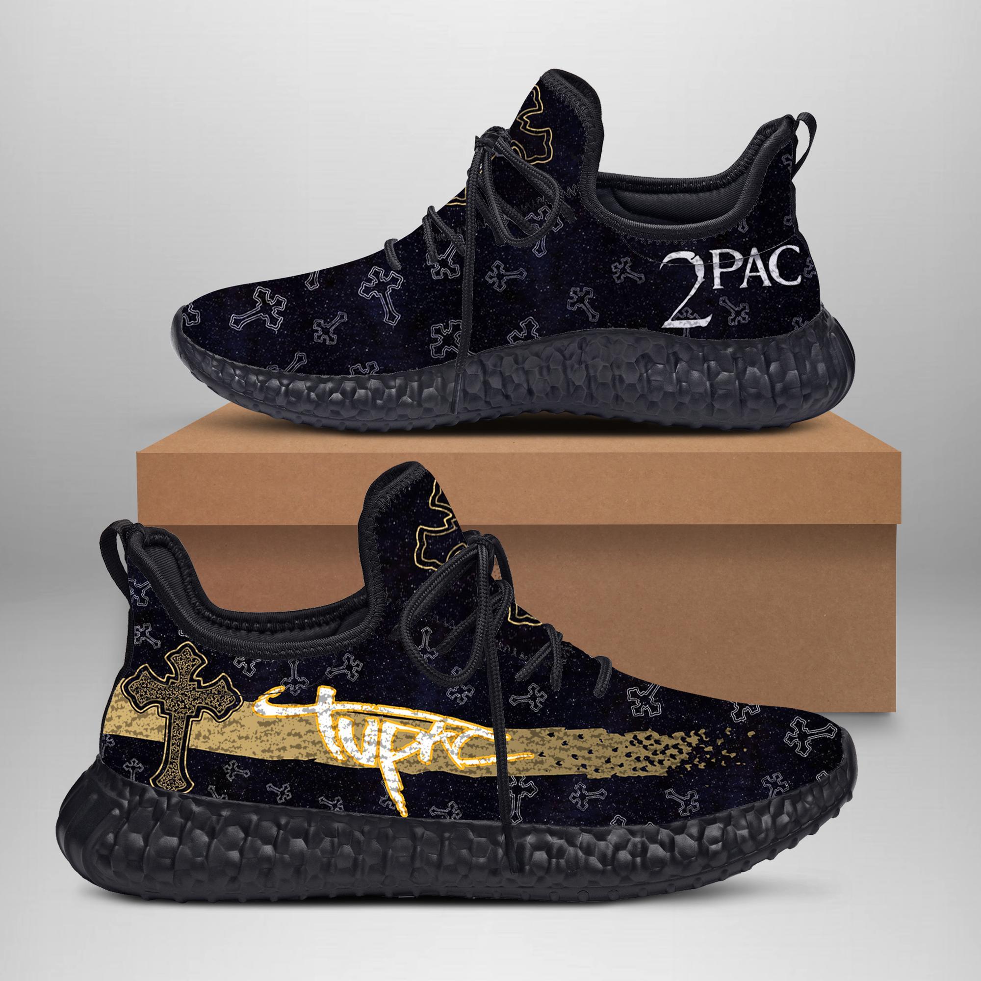 2Pac Tupac Custom New Yeezy Sneaker Boost May1930-1