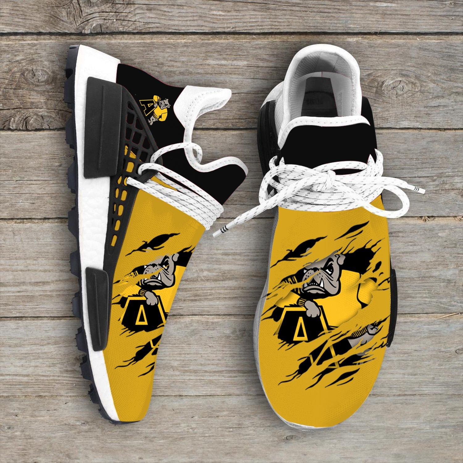 Adrian College Bulldogs NCAA Sport Teams NMD Human Race Sneakers Shoes 2020
