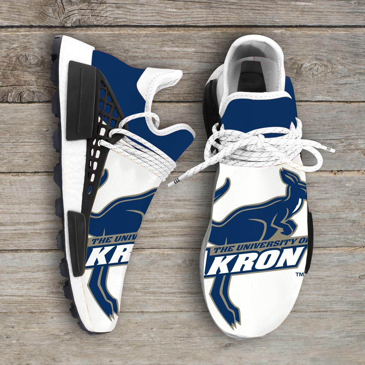 Akron Zips NCAA NMD Human Race Sneakers Sport Shoes Shoes2020