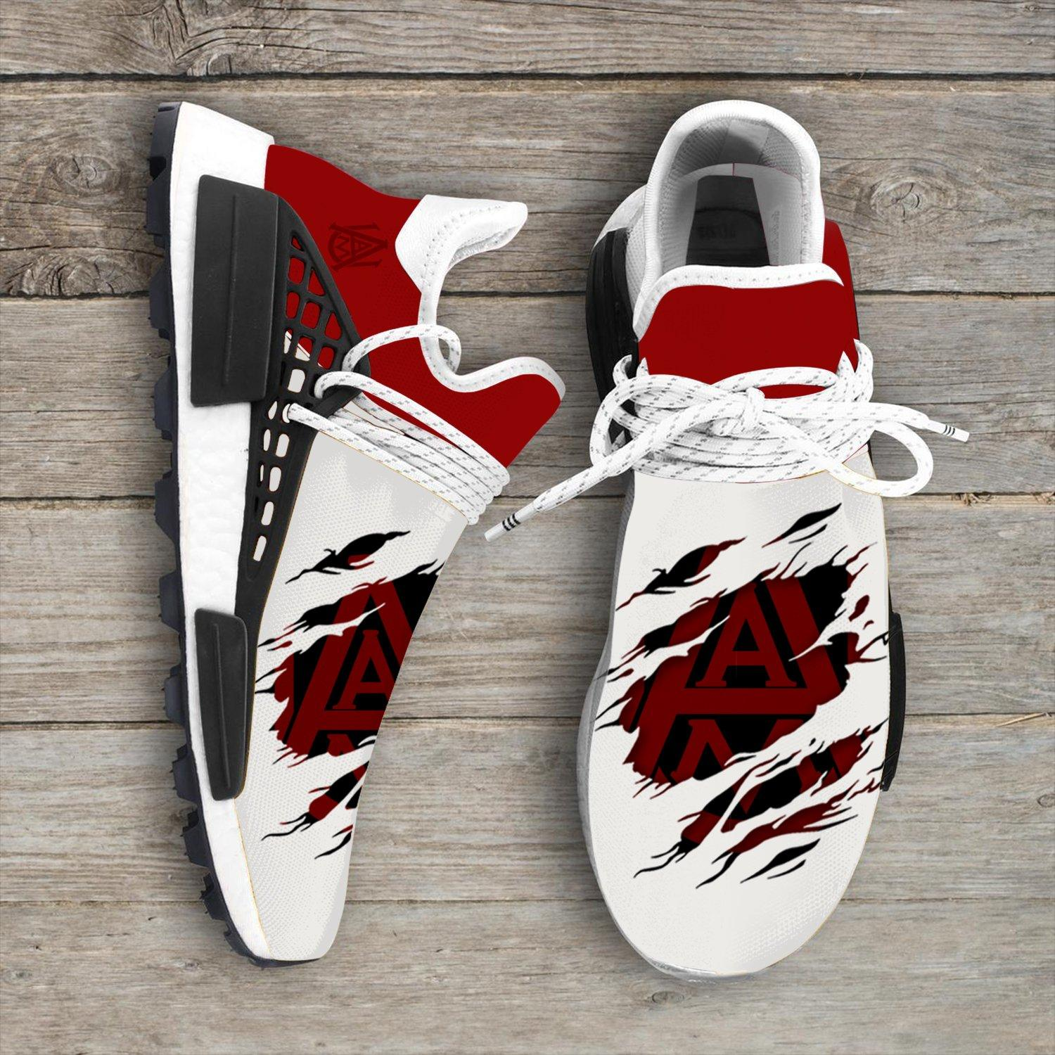 Alabama A&M Bulldogs NCAA Sport Teams NMD Human Race Sneakers Shoes 2020