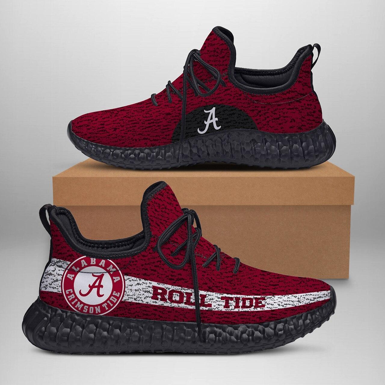 Alabama Crimson Tide Custom New Yeezy Sneaker Style Sneaker