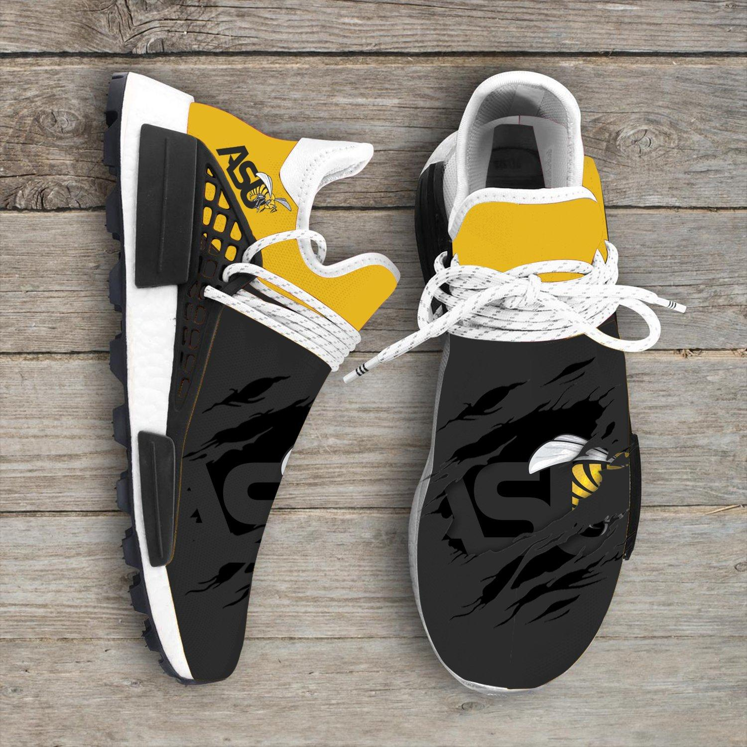 Alabama State Hornet NCAA NMD Human Race Shoes Sneakers Sport Teams 2020