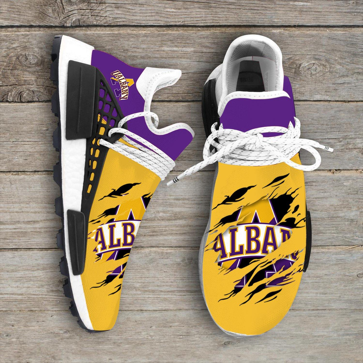 Albany Great Danes NCAA Sport Teams NMD Human Race Sneakers Shoes 2020