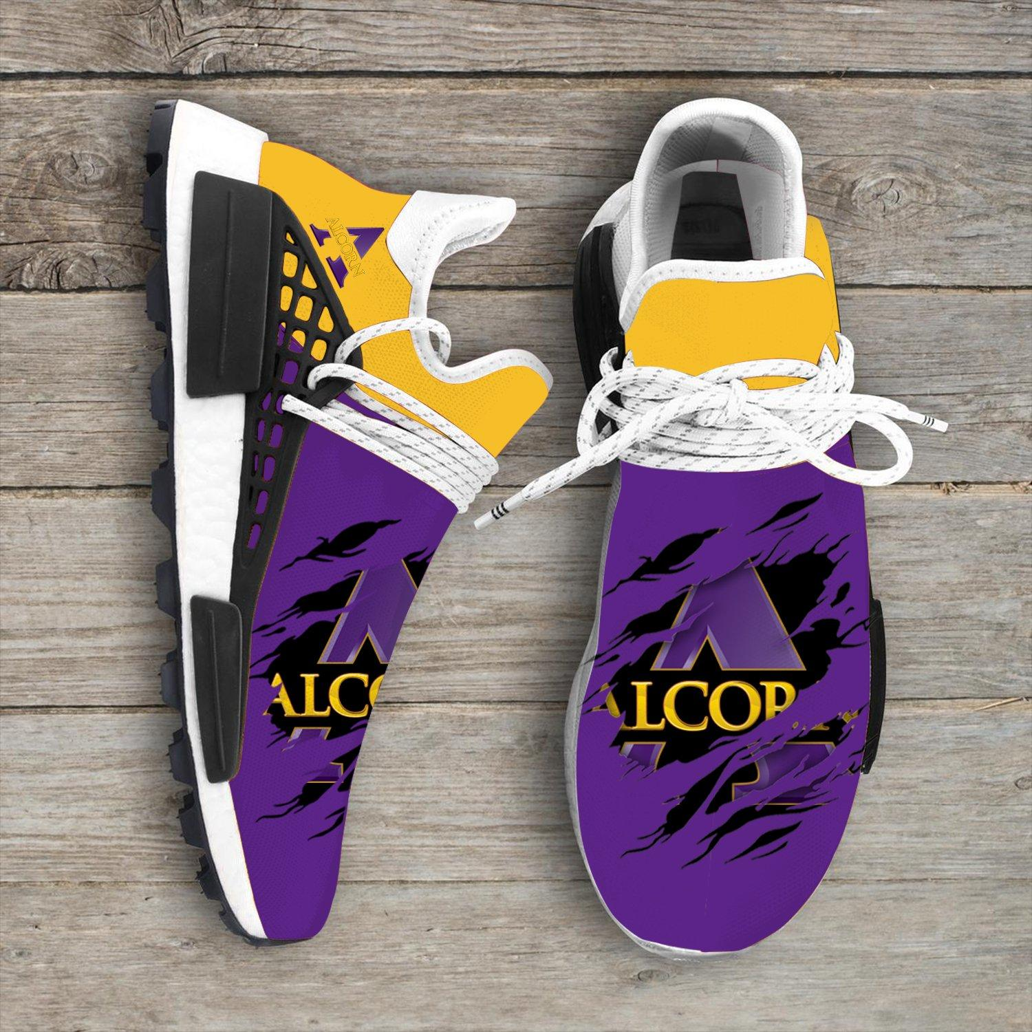 Alcorn State Braves NCAA Sport Teams NMD Human Race Sneakers Shoes 2020