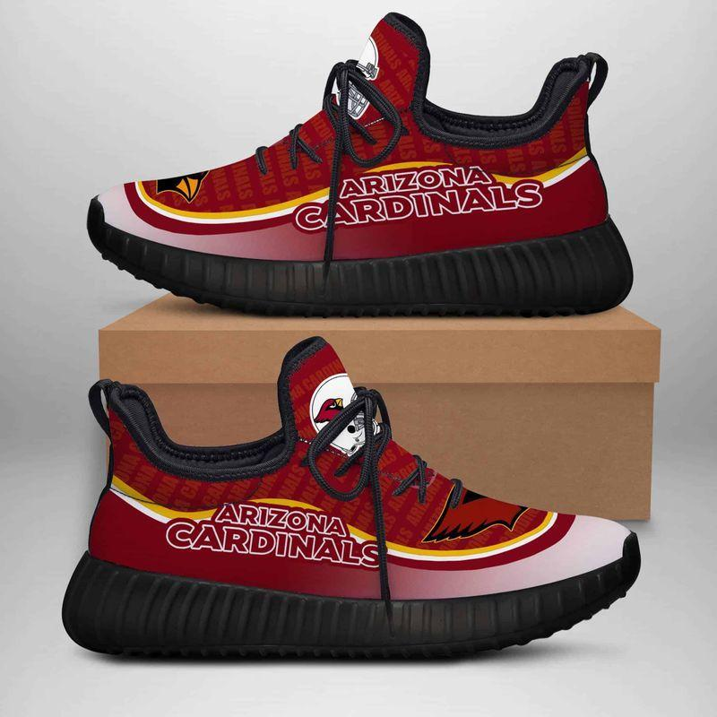 Arizona Cardinals Custom New Yeezy Sneaker Shoes 3D Designer Shoes, shoes for Men and Women Beautiful and Quality, Custom Shoes 2020