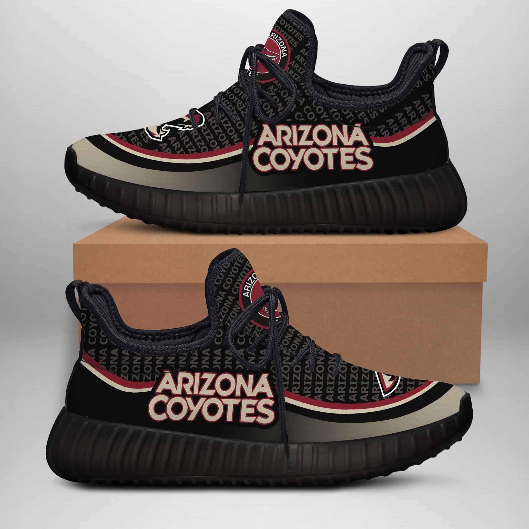 Arizona Coyotes Custom New Yeezy Sneaker