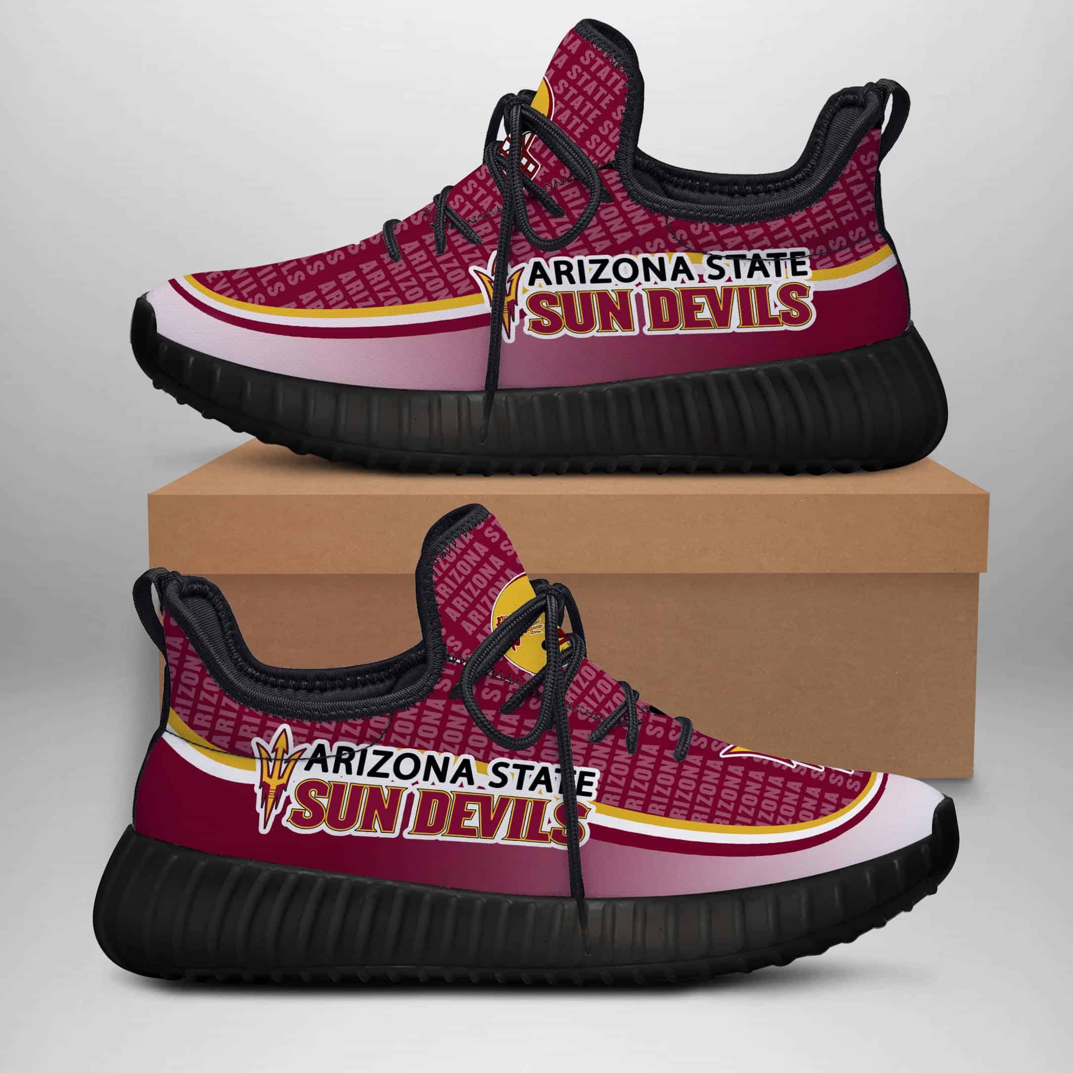 Arizona State Sun Devils Custom New Yeezy Sneaker