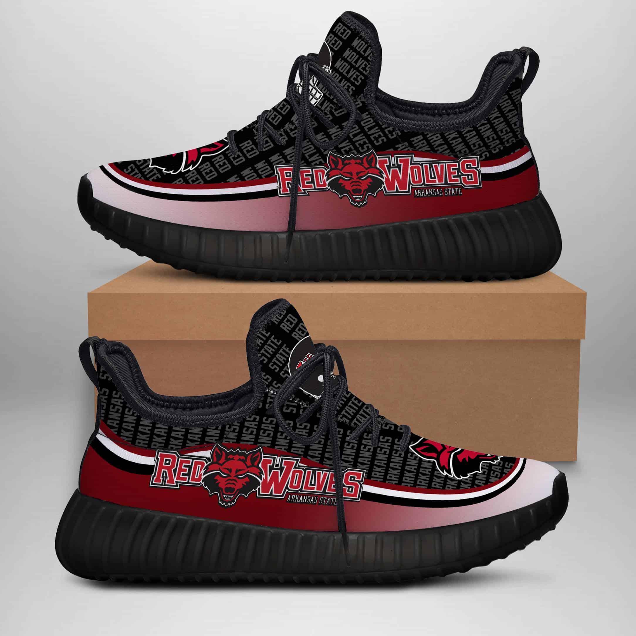 Arkansas State Red Wolves Custom New Yeezy Sneaker