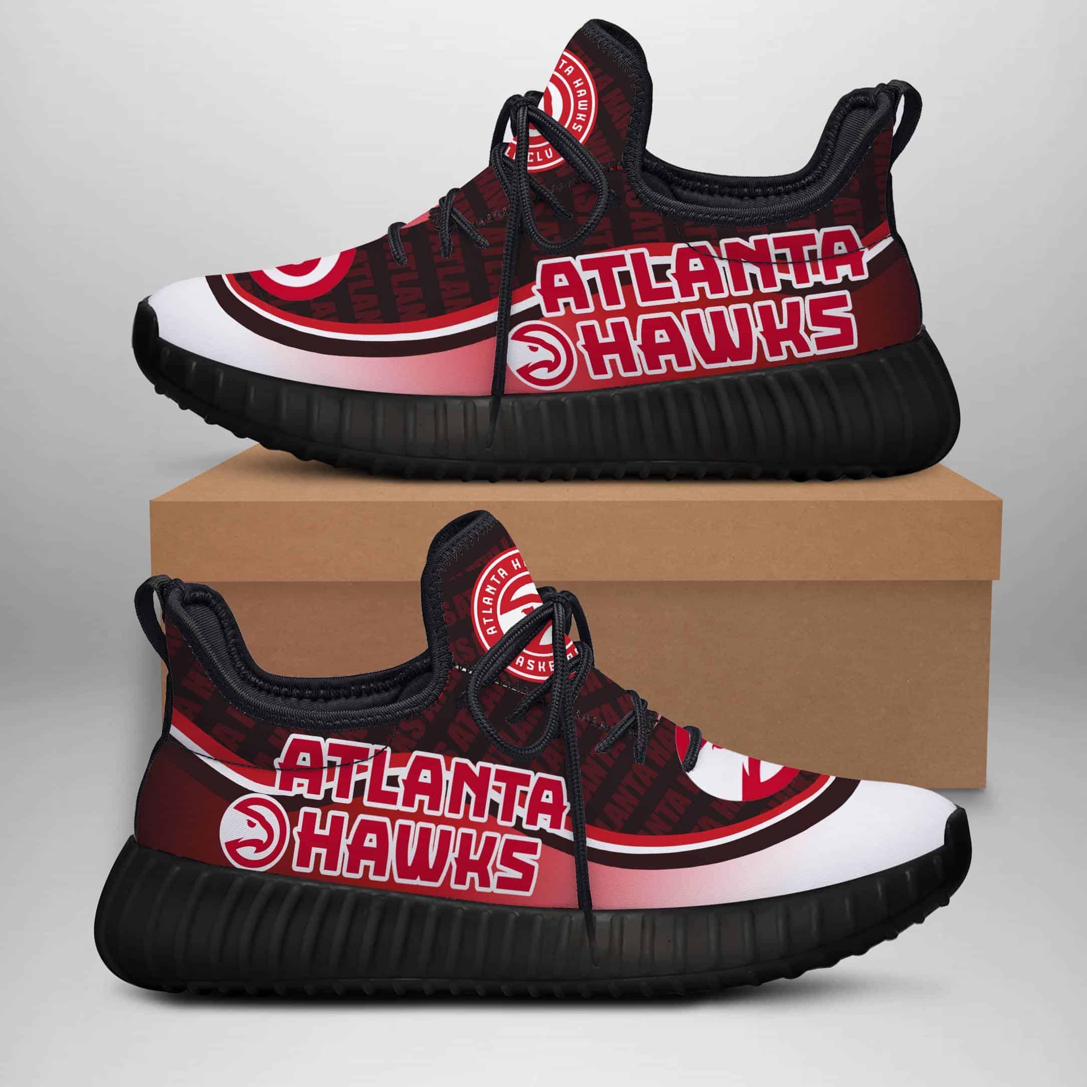 Atlanta Hawks Custom New Yeezy Sneaker