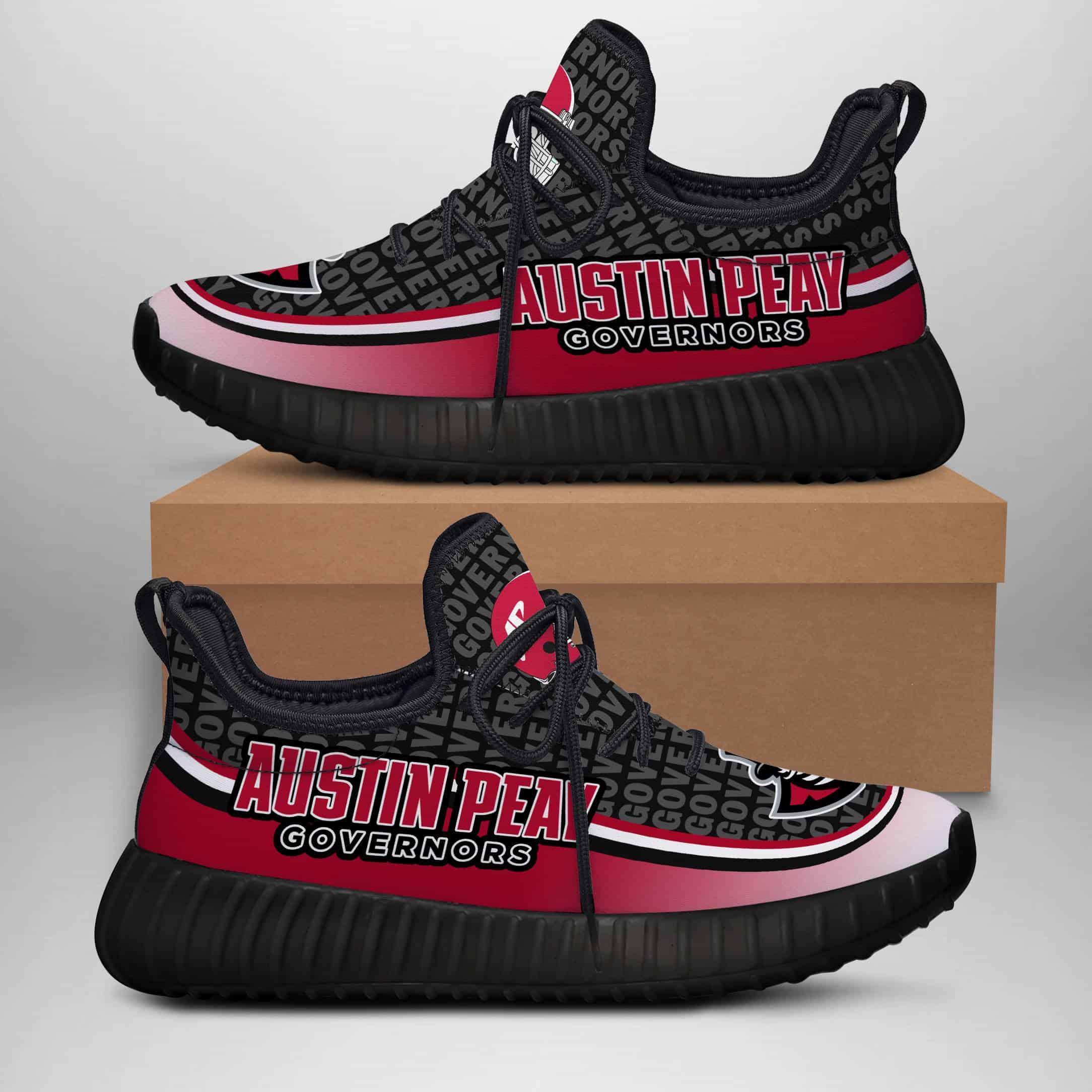 Austin Peay Governors Custom New Yeezy Sneaker