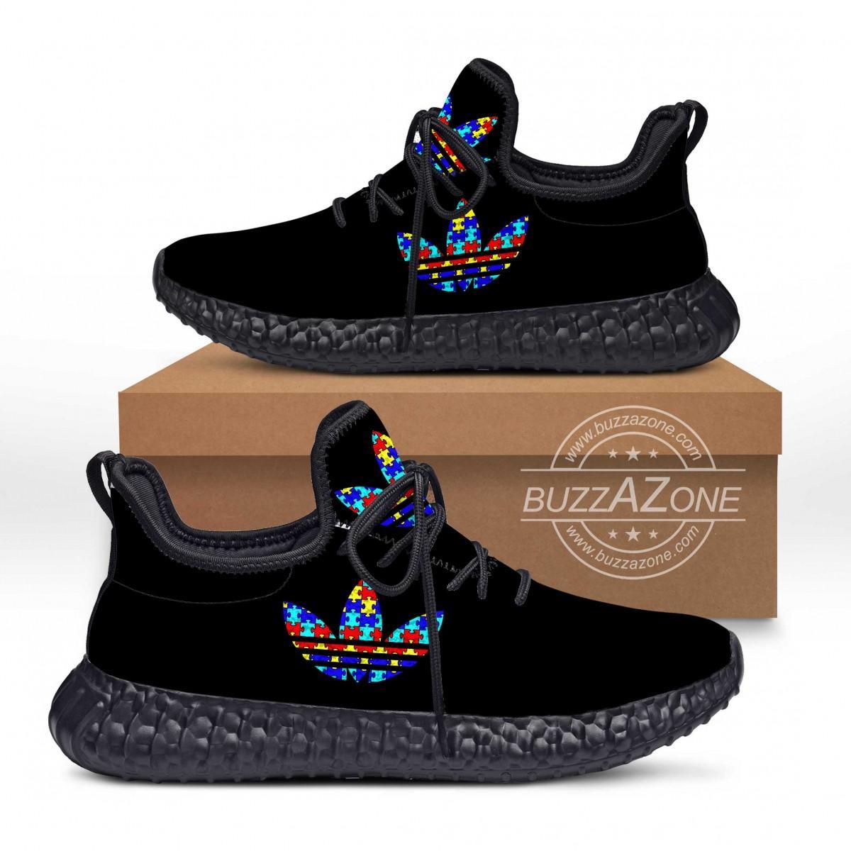 Austism Symbol Custom New Yeezy Sneaker
