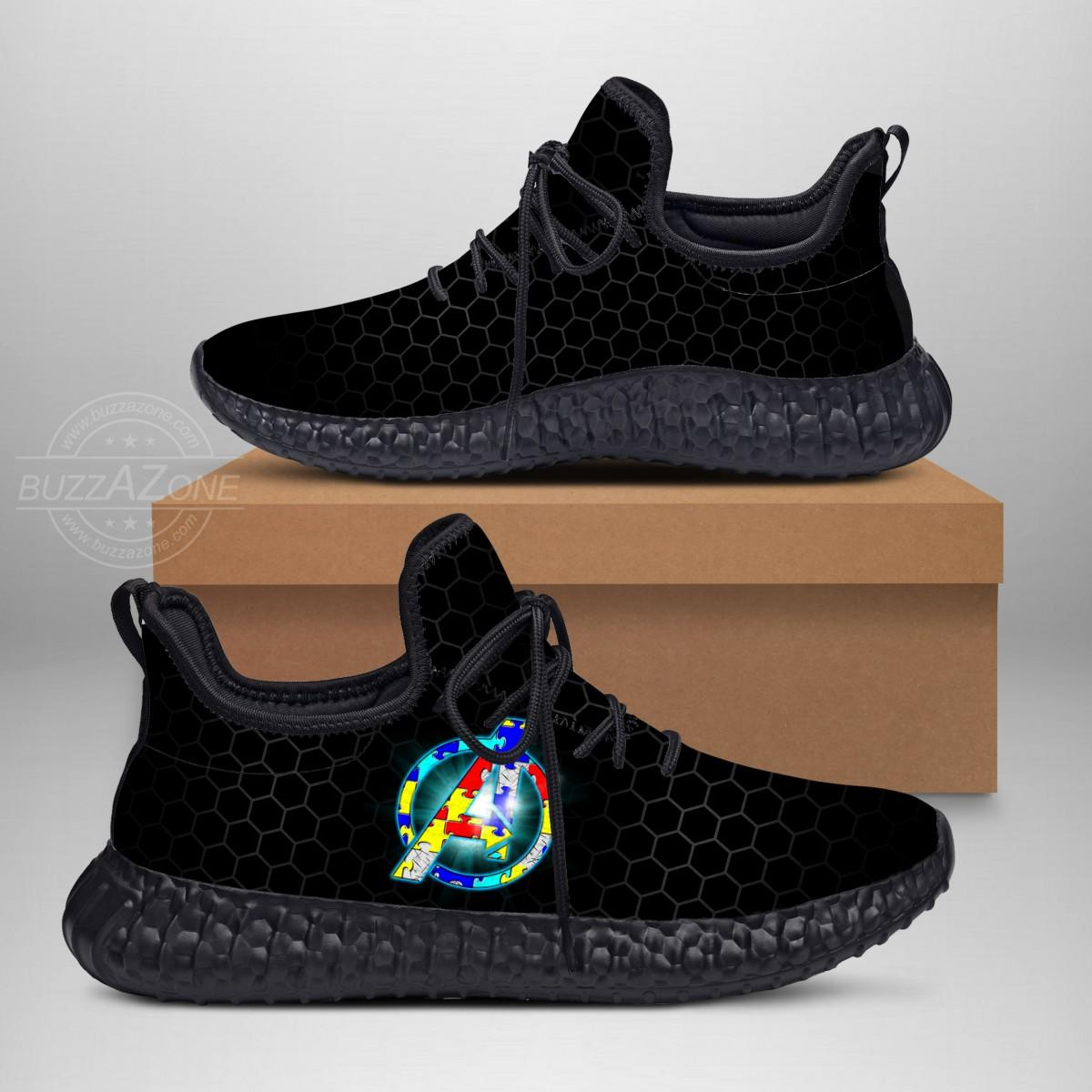 Autism Avenger Custom New Yeezy Sneaker