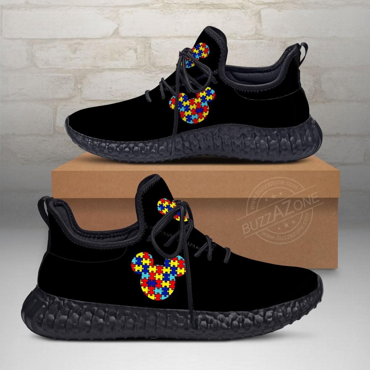 Autism Mickey Custom New Yeezy Sneaker