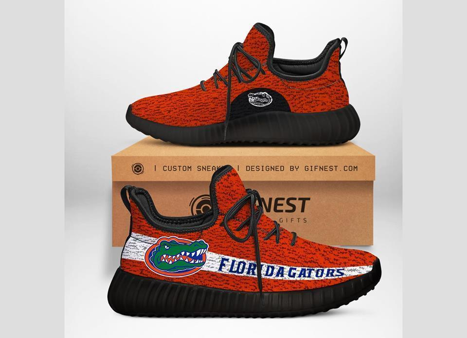 florida gators orange running shoes Custom New Yeezy Sneaker sneaker 3D Designer Shoes, shoes for Men and Women Beautiful and Quality, Custom Shoes 2020