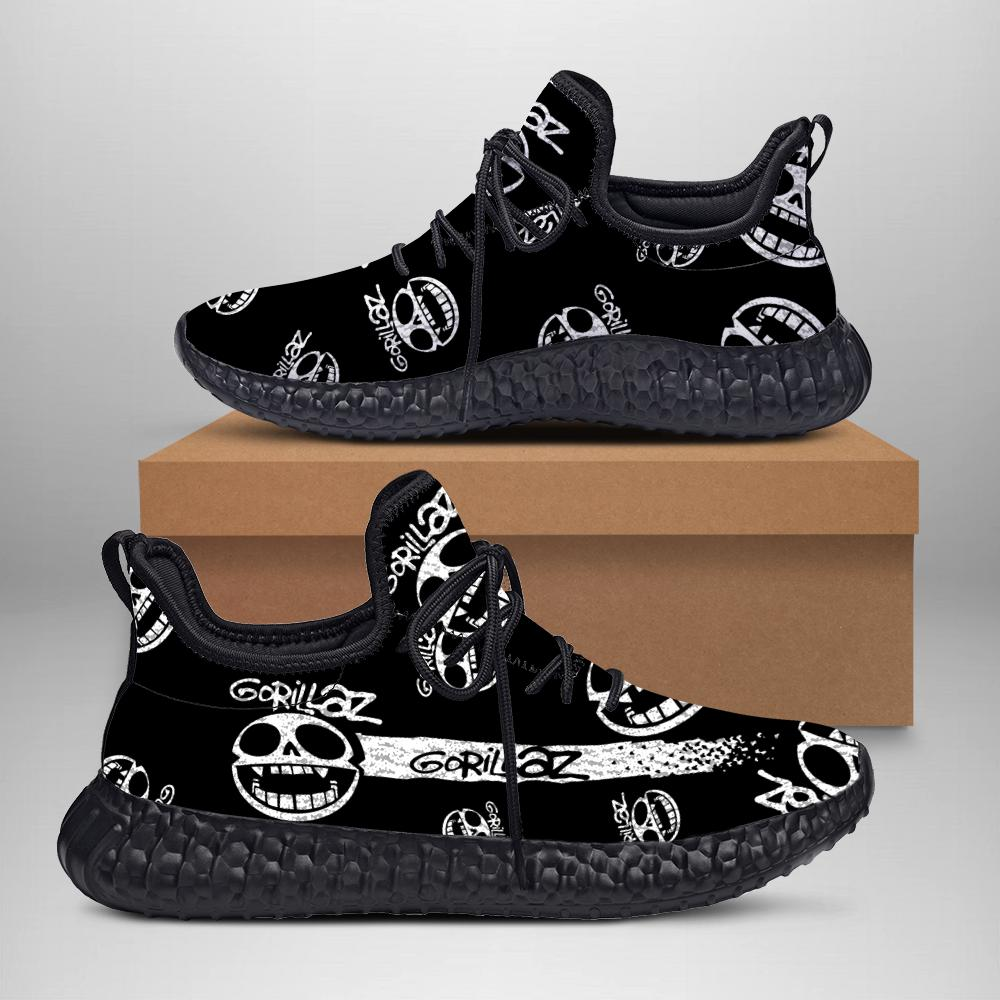 Gorillaz Face Custom New Yeezy Sneaker 3D
