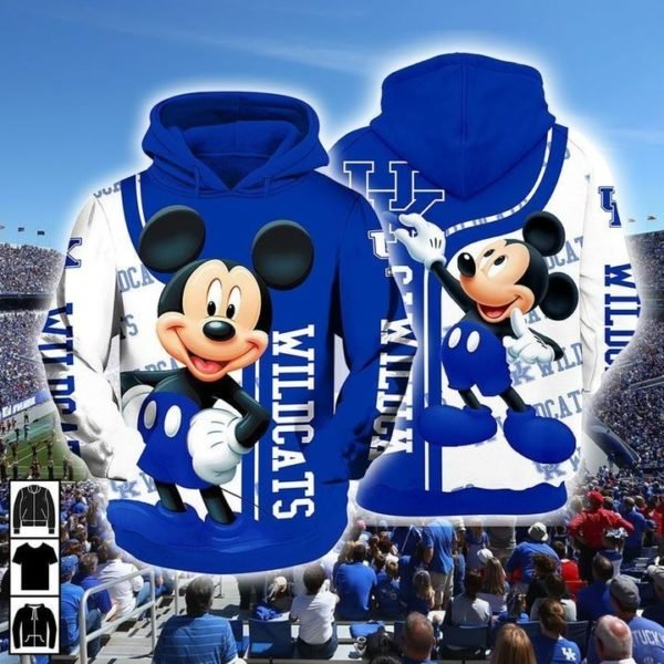 - Mickey Mouse Kentucky Wildcats Ncaa Men And Women 3d Full Printing Hoodie Shirt Mickey Mouse Kentucky Wildcats Ncaa 3d Full Printing Shirt Kentucky Wildcats 3d Full Printing Shirt
