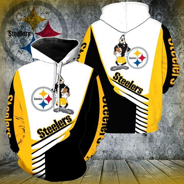 Pittsburgh Steelers Goofy Football For Steelers Pullover And Zip Pered Hoodies Custom 3d  Graphic Printed 3d Hoodie  All Over Print Hoodie For Men For Women