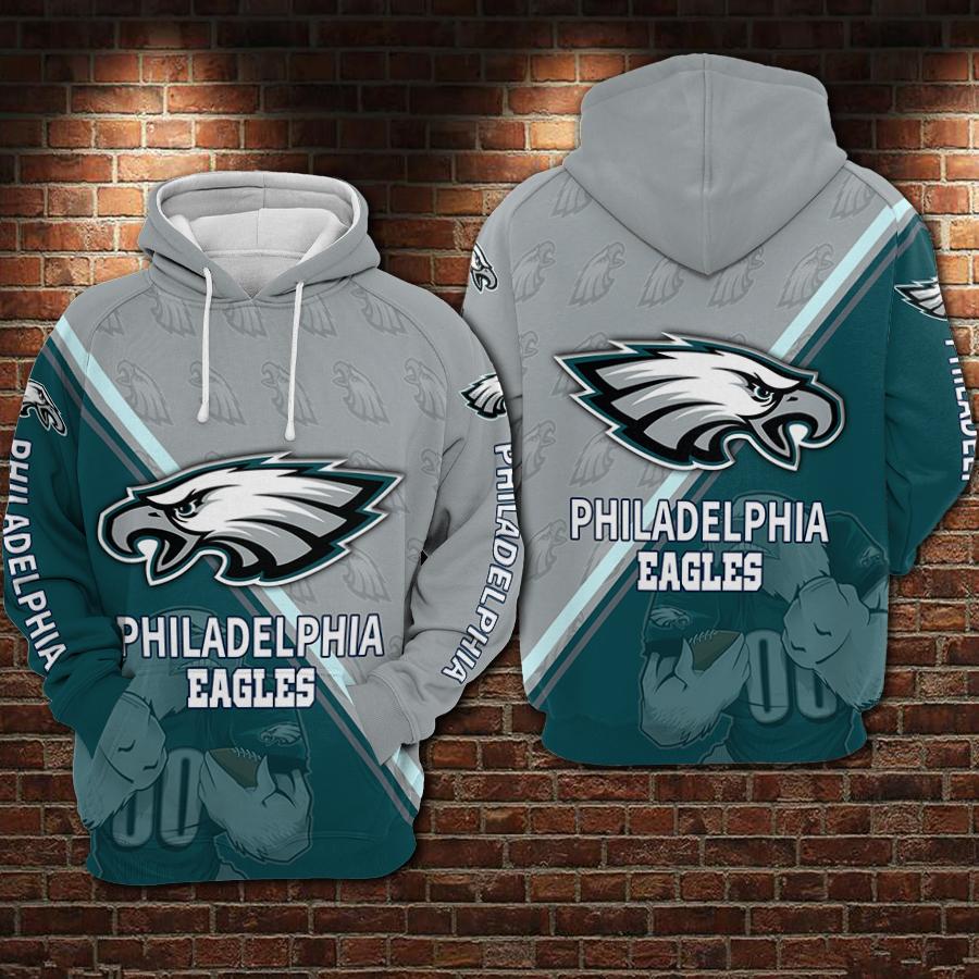 Philadelphia Eagles 3D Hoodie For Men For Women, All Over Printed Hoodie
